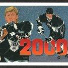 LOS ANGELES KINGS WAYNE GRETZKY 2000 90/91 UD # 545