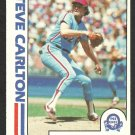 PHILADELPHIA PHILLIES STEVE CARLTON IN ACTION 1982 O PEE CHEE OPC # 122