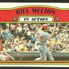 CHICAGO WHITE SOX BILL MELTON I/A 1972 TOPPS # 184 VG/EX