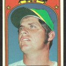 OAKLAND A's ATHLETICS BRANT ALYEA 1972 TOPPS #383 EX SOC