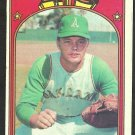 OAKLAND A's ATHLETICS DAVE DUNCAN 1972 TOPPS # 17 VG/EX
