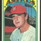 HOUSTON ASTROS DOUG RADER 1972 TOPPS # 536 EX