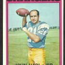 SAN DIEGO CHARGERS JOHN HADL 1972 TOPPS # 15 VG/EX