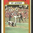 SAN FRANCISCO GIANTS TITO FUENTES I/A 1972 TOPPS # 428 VG/EX