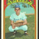 KANSAS CITY ROYALS BUCK MARTINEZ 1972 TOPPS # 332 VG