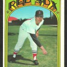 BOSTON RED SOX RAY CULP 1972 TOPPS # 2 EX MT