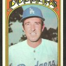 LOS ANGELES DODGERS CLAUDE OSTEEN 1972 TOPPS # 297 EX