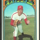 PHILADELPHIA PHILLIES WOODY FRYMAN 1972 TOPPS # 357 VG