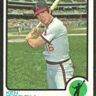 CALIFORNIA ANGELS KEN BERRY 1973 TOPPS # 445 VG