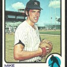NEW YORK YANKEES MIKE KEKICH 1973 TOPPS # 371 VG/EX