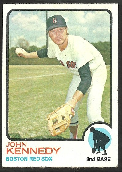 BOSTON RED SOX JOHN KENNEDY 1973 TOPPS # 437 NR MT