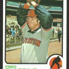HOUSTON ASTROS FRED GLADDING 1973 TOPPS # 17 NR MT