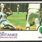 PHILADELPHIA PHILLIES WILLIE MONTANEZ 1973 TOPPS # 97 EX MT