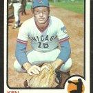 CHICAGO CUBS KEN RUDOLPH 1973 TOPPS # 414 VG