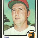 PHILADELPHIA PHILLIES TOM HALLER 1973 TOPPS # 454 VG