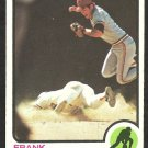 CLEVELAND INDIANS FRANK DUFFY 1973 TOPPS # 376 VG
