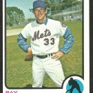 NEW YORK METS RAY SADECKI 1973 TOPPS # 283 EX MT/NR MT