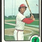 ST LOUIS CARDINALS JOSE CRUZ 1973 TOPPS # 292 VG