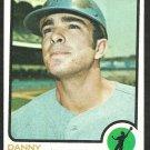 MINNESOTA TWINS DANNY WALTON 1973 TOPPS # 516