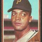 Pittsburgh Pirates Earl Francis 1962 Topps Baseball Card 252 vg