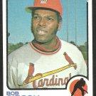St Louis Cardinals Bob Gibson 1973 Topps Baseball Card 190