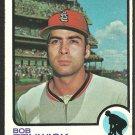 St Louis Cardinals Bob Fenwick 1973 Topps Baseball Card 567 vg