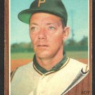 Pittsburgh Pirates Roy Face 1962 Topps Baseball Card 210 ex