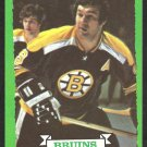 Boston Bruins Johnny Bucyk with Bobby Orr 1973 Topps Hockey Card 26