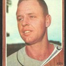 Houston Colts Astros Ken Johnson 1962 Topps Baseball Card 278 vg