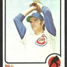 Chicago Cubs Bill Bonham 1973 Topps Baseball Card 328 nr mt