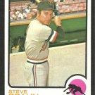 Minnesota Twins Steve Braun 1973 Topps Baseball Card 16 nr mt
