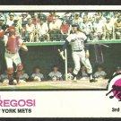 NEW YORK METS JIM FREGOSI 1973 TOPPS # 525 fair/good