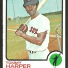 BOSTON RED SOX TOMMY HARPER 1973 TOPPS # 620