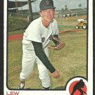 BOSTON RED SOX LEW KRAUSSE 1973 TOPPS # 566 VG