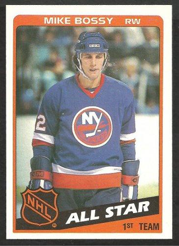 1984 Topps Hockey Card # 155 New York Islanders Mike Bossy All Star nr mt