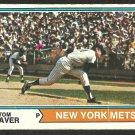 NEW YORK METS TOM SEAVER 1974 TOPPS # 80 g/vg