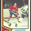 MONTREAL CANADIENS YVAN COURNOYER 1974 TOPPS # 140 NR MT