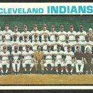 CLEVELAND INDIANS TEAM CARD 1973 TOPPS # 629 VG/EX