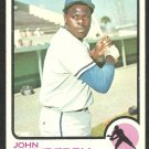 KANSAS CITY ROYALS JOHN MAYBERRY 1973 TOPPS # 118 VG