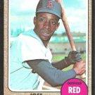 BOSTON RED SOX JOSE TARTABULL 1968 TOPPS # 555 NR MT
