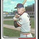 CLEVELAND INDIANS BUDDY BELL 1974 TOPPS # 257 VG