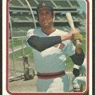 BOSTON RED SOX ORLANDO CEPEDA 1974 TOPPS # 83 EX