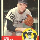 DETROIT TIGERS TERRY FOX 1963 TOPPS # 44 VG/EX
