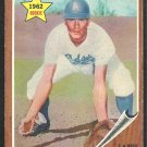 LOS ANGELES DODGERS LARRY BURRIGHT 1962 TOPPS # 348 vg/ex