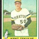 1976 Topps Baseball Card # 112 Pittsburgh Pirates Kent Tekulve Rookie Card RC good