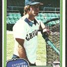 1981 Topps Baseball Card # 272 Chicago White Sox Bruce Kimm nr mt