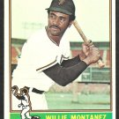 1976 Topps Baseball Card # 181 San Francisco Giants Willie Montanez ex/em