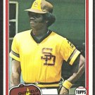 1981 Topps Baseball Card # 285 San Diego Padres Jerry Turner nr mt
