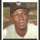 WASHINGTON SENATORS CHUCK HINTON 1964 TOPPS # 52 VG