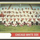 CHICAGO WHITE SOX TEAM CARD 1974 TOPPS # 416 VG/EX
